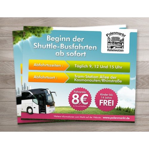 ads for Polenmarkt Howenwutzen