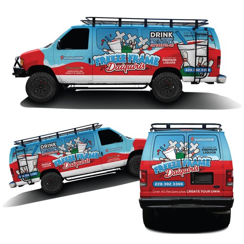 Van Wrap for Daiquiri Business