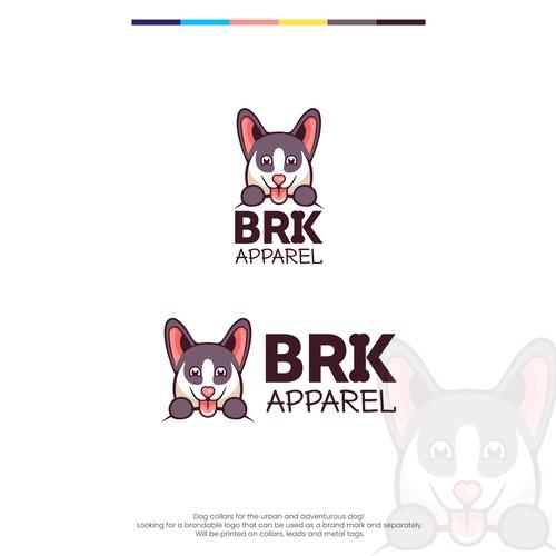 BRK Playful Dog Logo