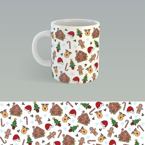 Christmas mug design