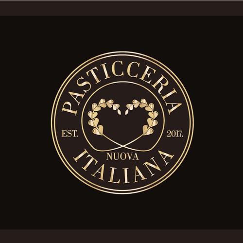 Logo design for Nuova Pasticceria Italiana