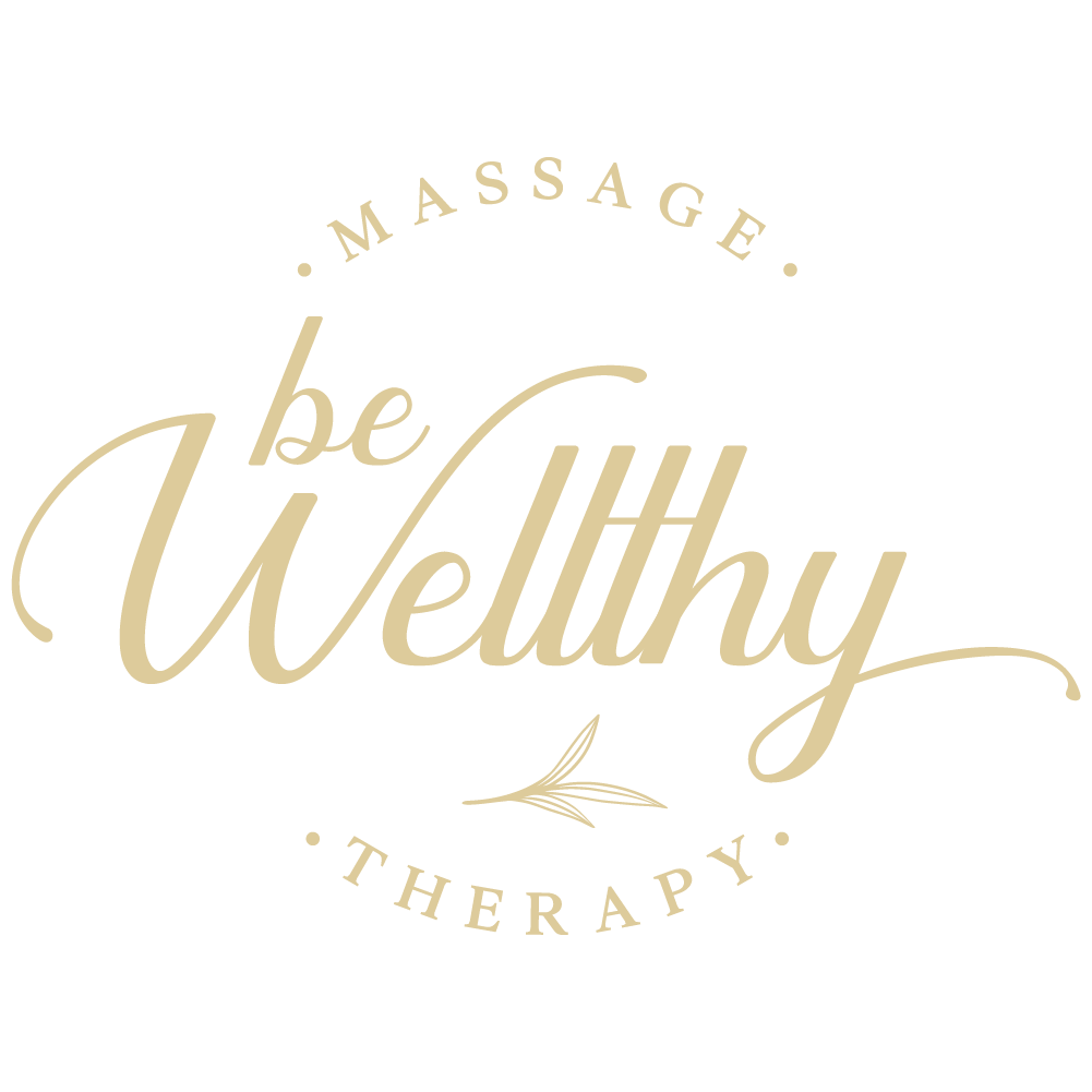 Design a modern logo, with a unique name for a massage therapist.