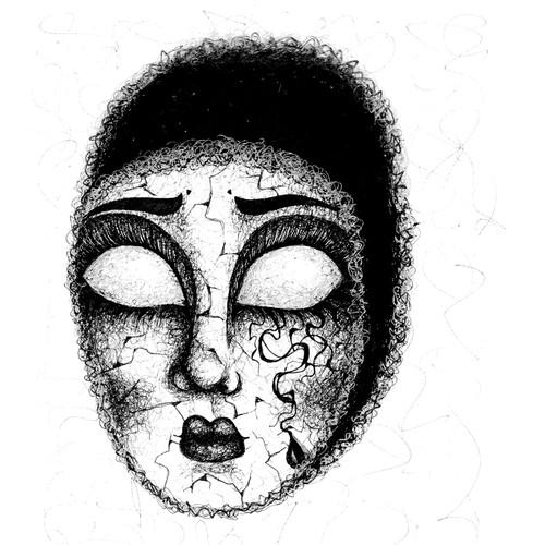 Mask Book Illustration