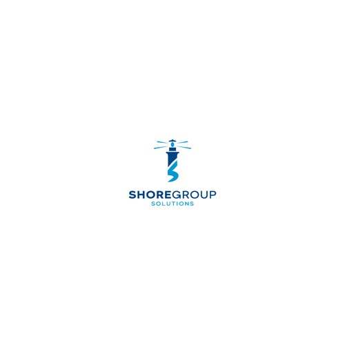 Bold logo concept for ShoreGroup Solutions