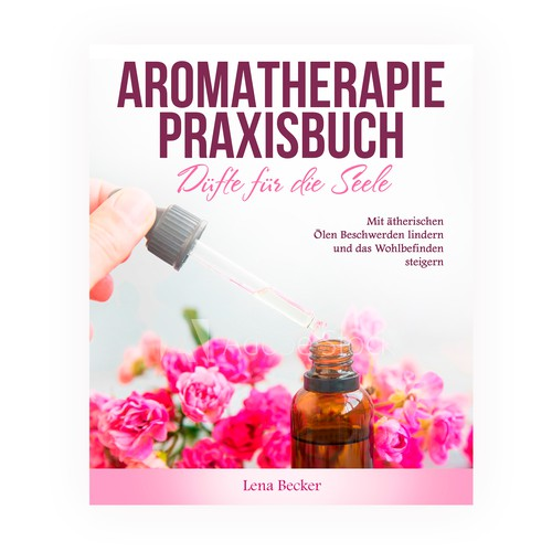 A cover for an aromatherapy book