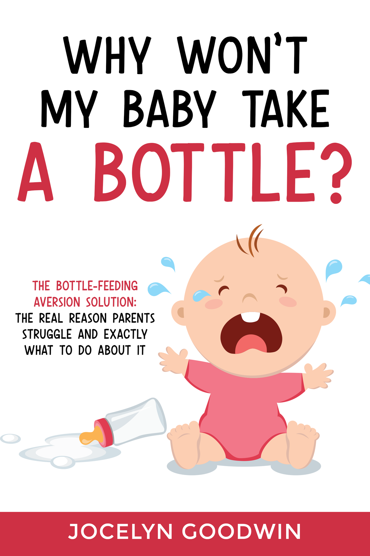 Bottle-Feeding Aversion Ebook Cover for the Stressed Parent.