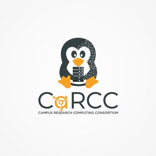 logo penguin server linux