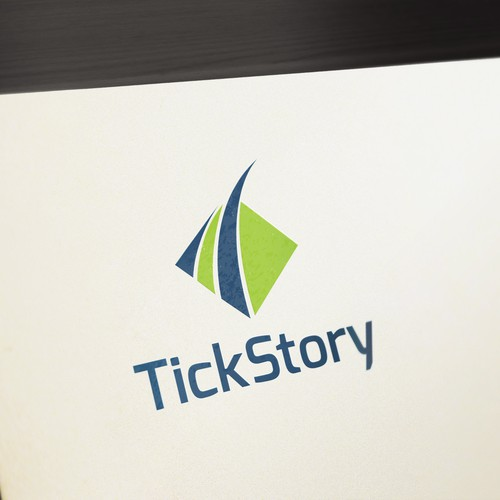 ** GUARANTEED ** Logo for a Financial application called Tickstory
