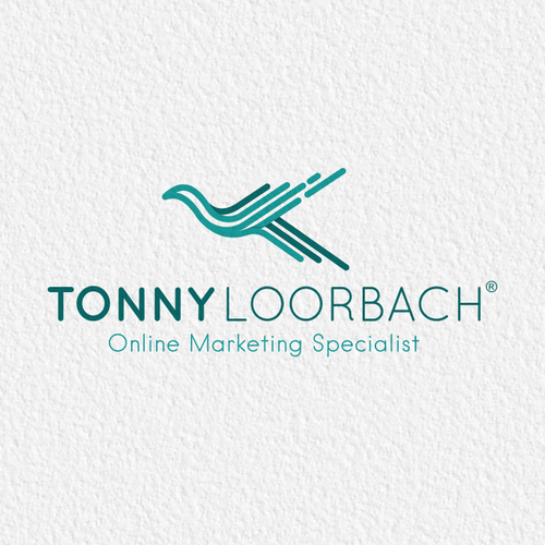Logo for an entrepreneur, internet marketing trainer and coach / investor
