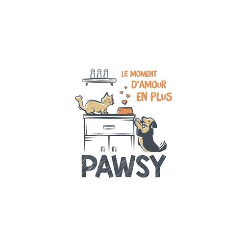 Logo Pawsy