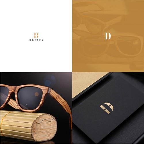 Elegant Logo for Wooden Sunglasses Company