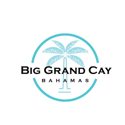 Logo design for Big Grand Cay, a private family resort