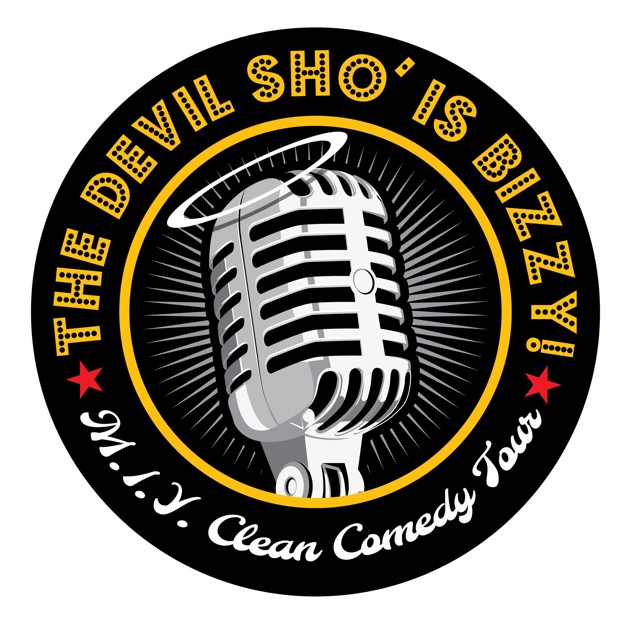 Clean Comedy Show Logo