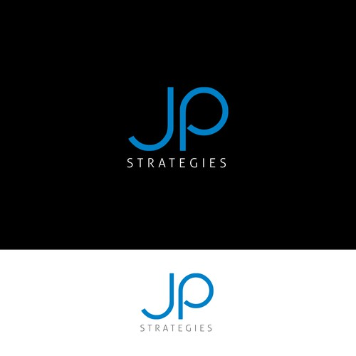 JP Strategies logo design