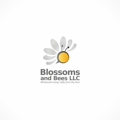 Create the next logo for Blossoms and Bees LLC