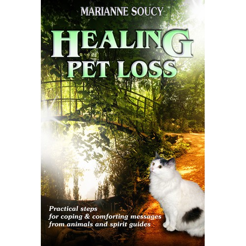 Create the ebook cover for Healing Pet Loss