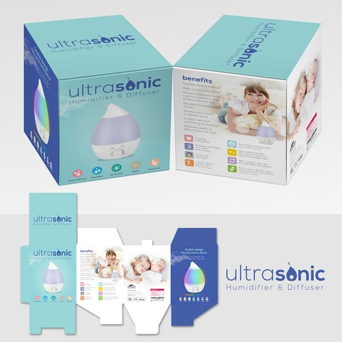 "Packaging for Aennon ""Ultrasonic Humidifier & Diffuser"""