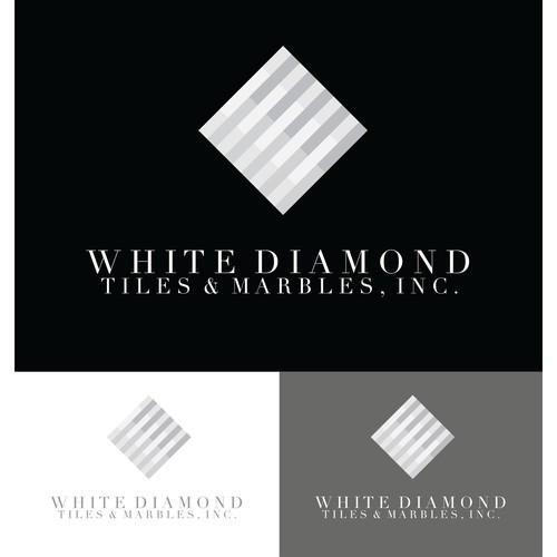 Create a logo for White Diamond Tile!!!