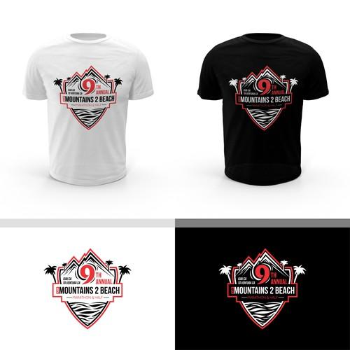 T-Shirt Work for 9th Annual M2B Marathon Event