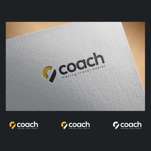 Bold Logo Concept for coach