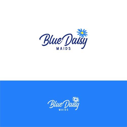 BLUE DAISY MAIDS LOGO