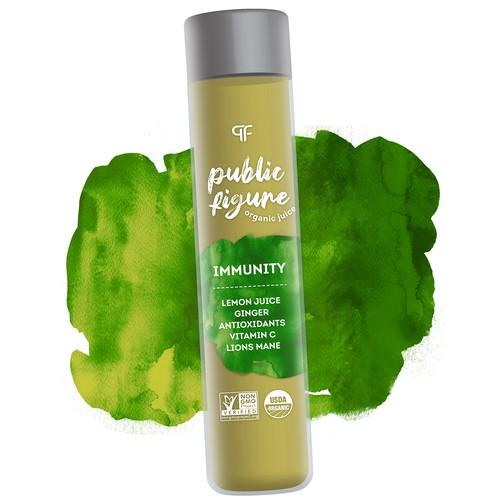 Public figure organic juice