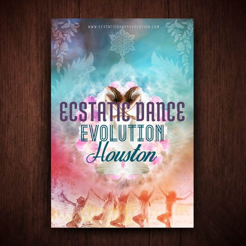 "ECSTATIC Dance EVOLUTION ~ New Juicy 4"" x 6"" Flier Design Requested!!!"