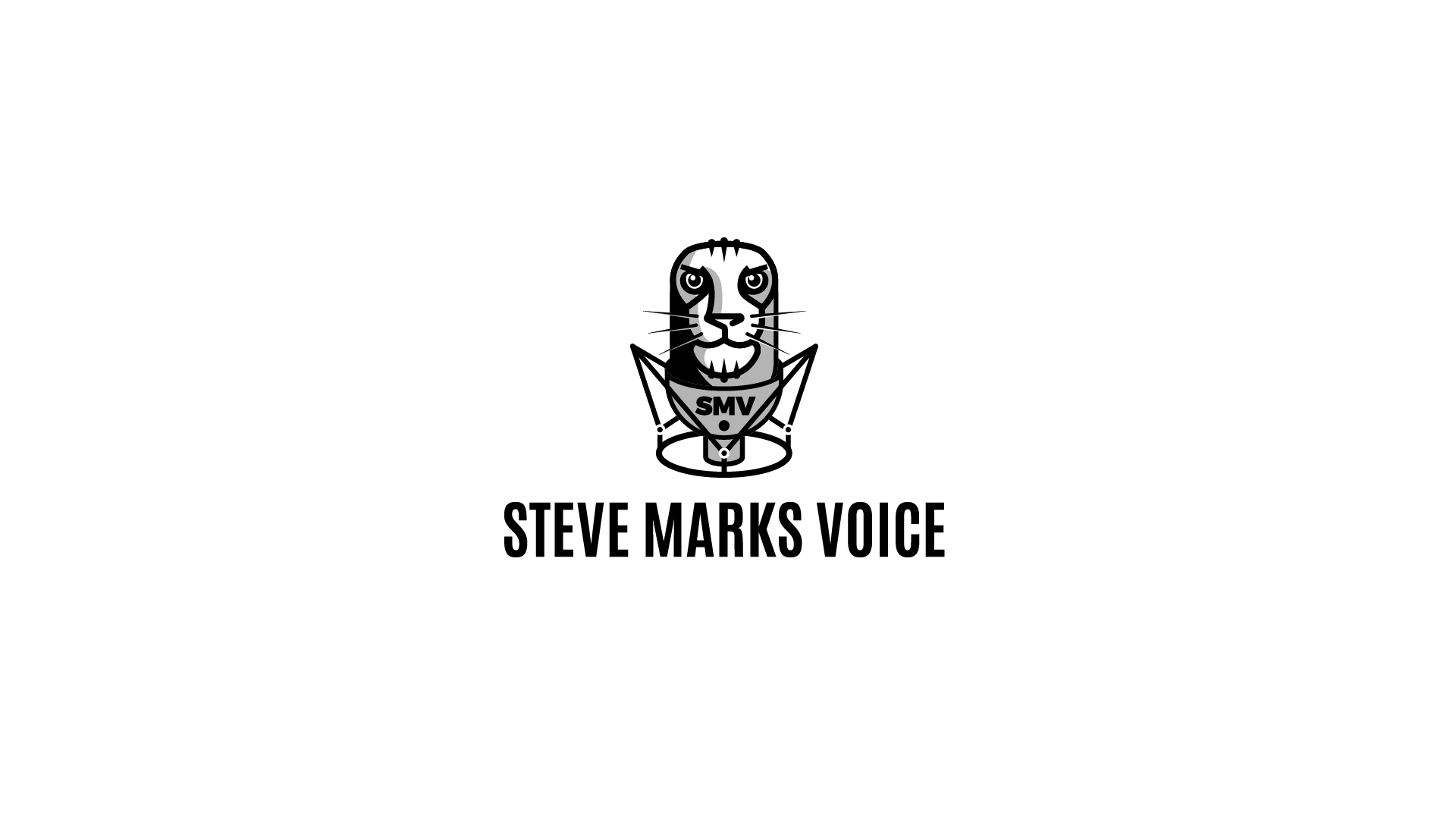 Voice over talent needs an engaging logo to win new business!