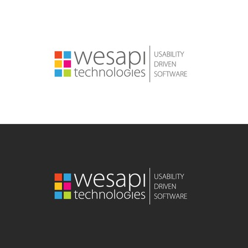 Logo and Business Card for WESAPI technologies