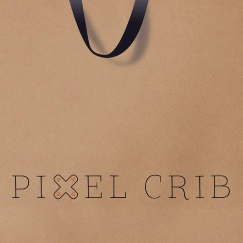 Alternate Pixel Crib Logo