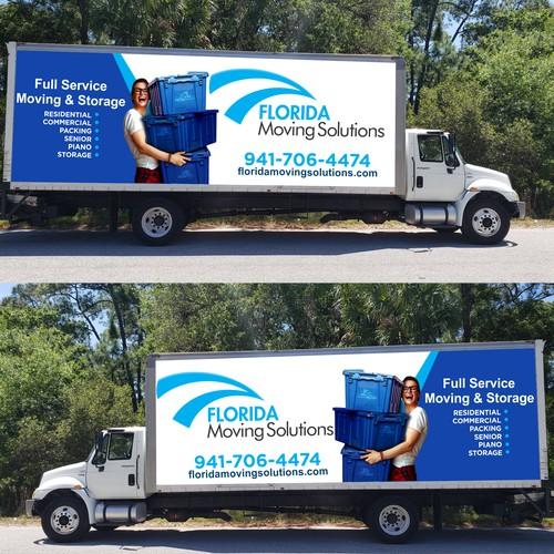 Moving Company Box Truck Wrap