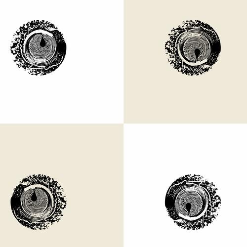 Design Tattoo  illustration concept Enso