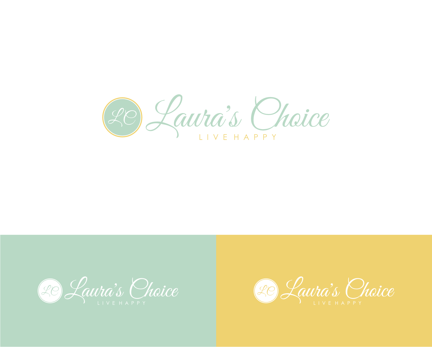 Create a lasting brand image for new blog Laura's Choice