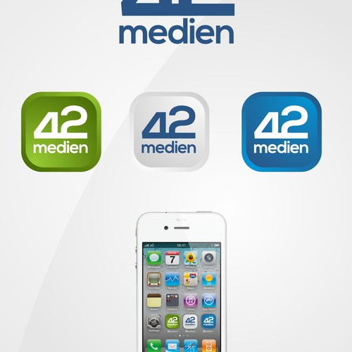Design our Logo for 42medien - As you know, this is the answer for anything.