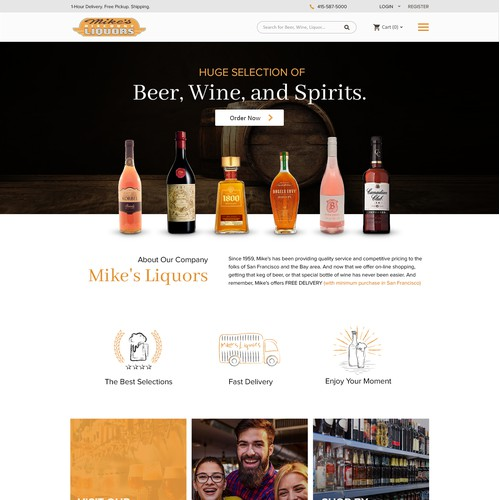 Mike's Discount Liquors