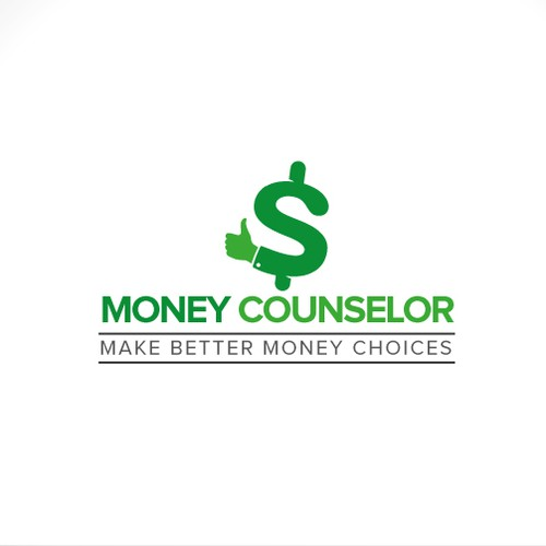Help Money Counselor encourage smart money choices with attractive logo
