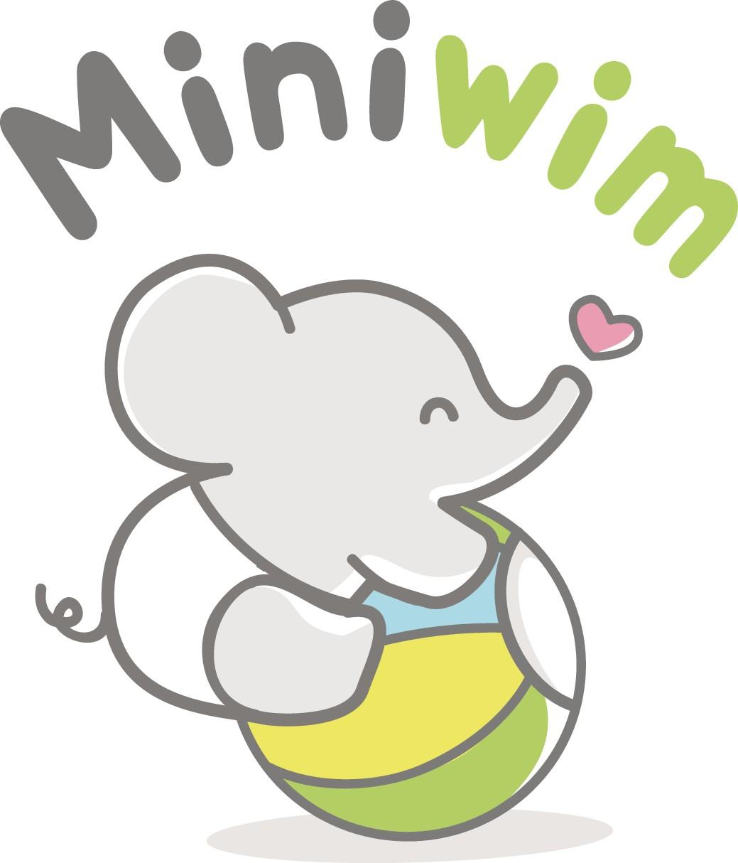 Knuffiges Logo für Babyprodukte
