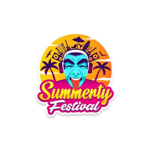 Logo für Musik-Festival // Logo for music festival