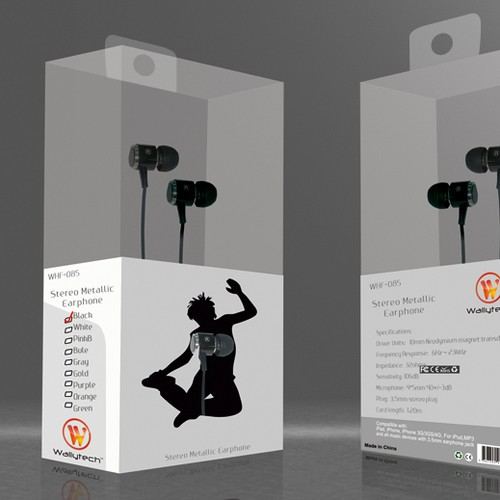 Earphone Package Designs