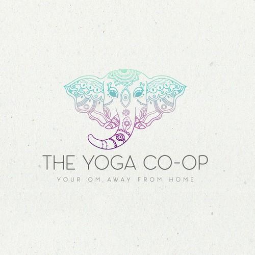 Logo design for The Yoga Co-op