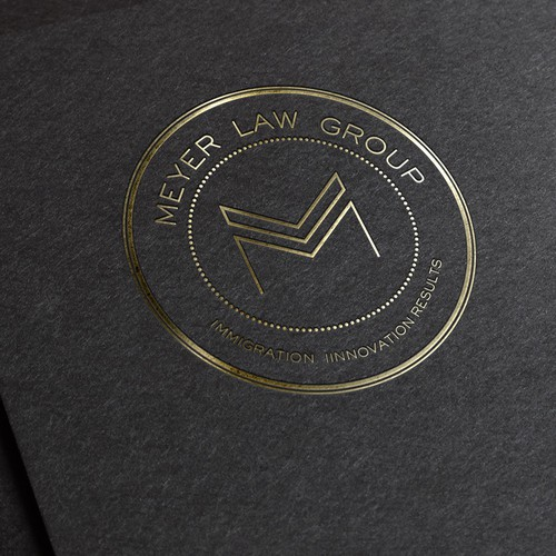 Logo concept for law firm.