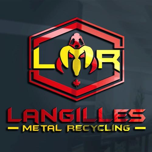 LANGILLES METAL RECYCLING logo