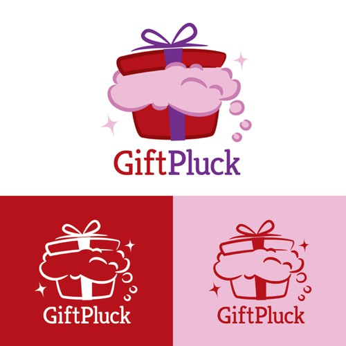 Craft a fun logo for social wishlist startup Giftpluck