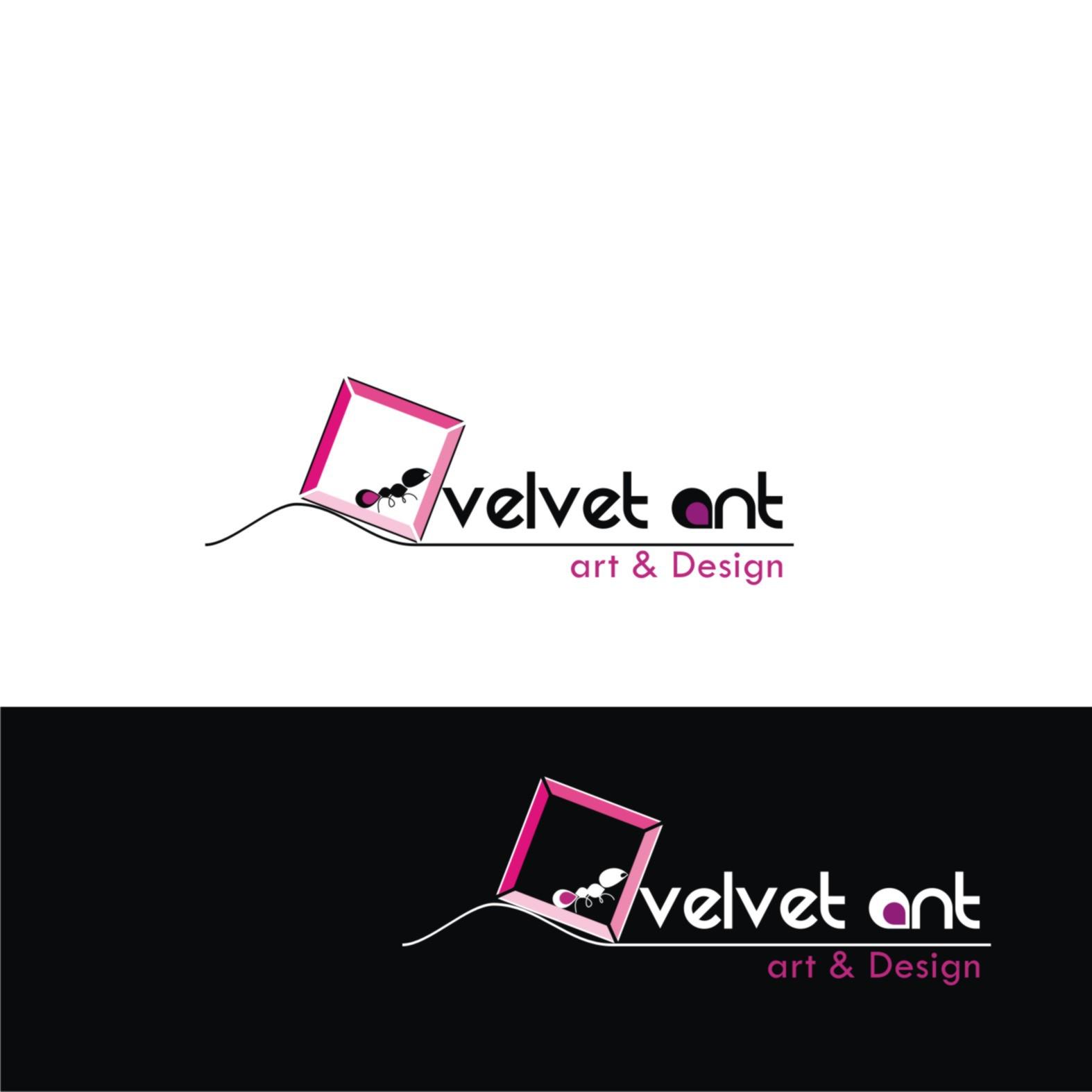 Create the next logo for Velvet Ant art & Design