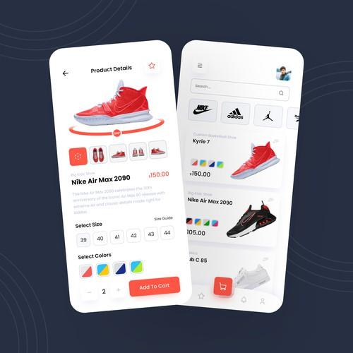 ShoesShop App Design
