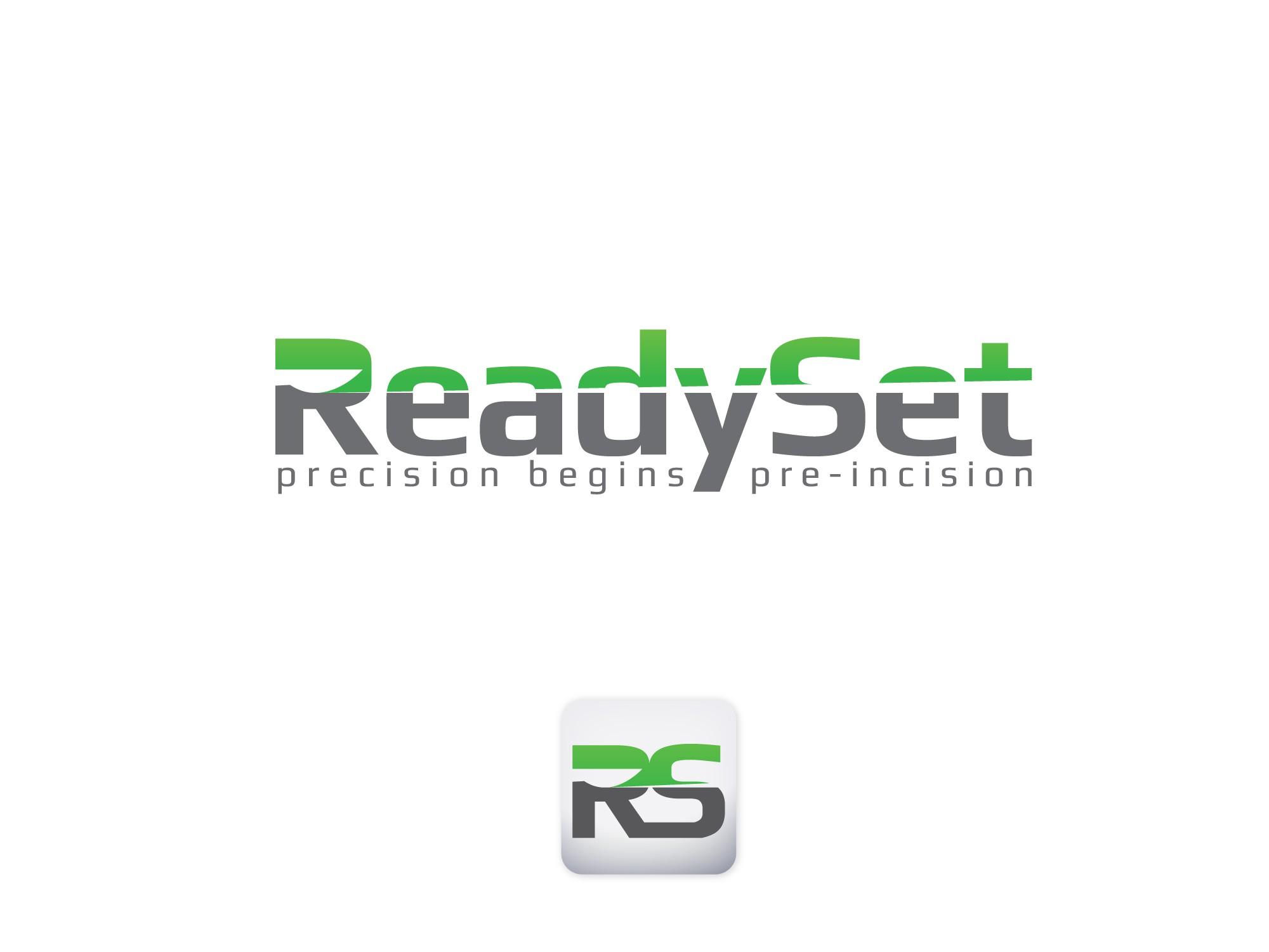 "create a ""cutting edge"" logo for ReadySet"