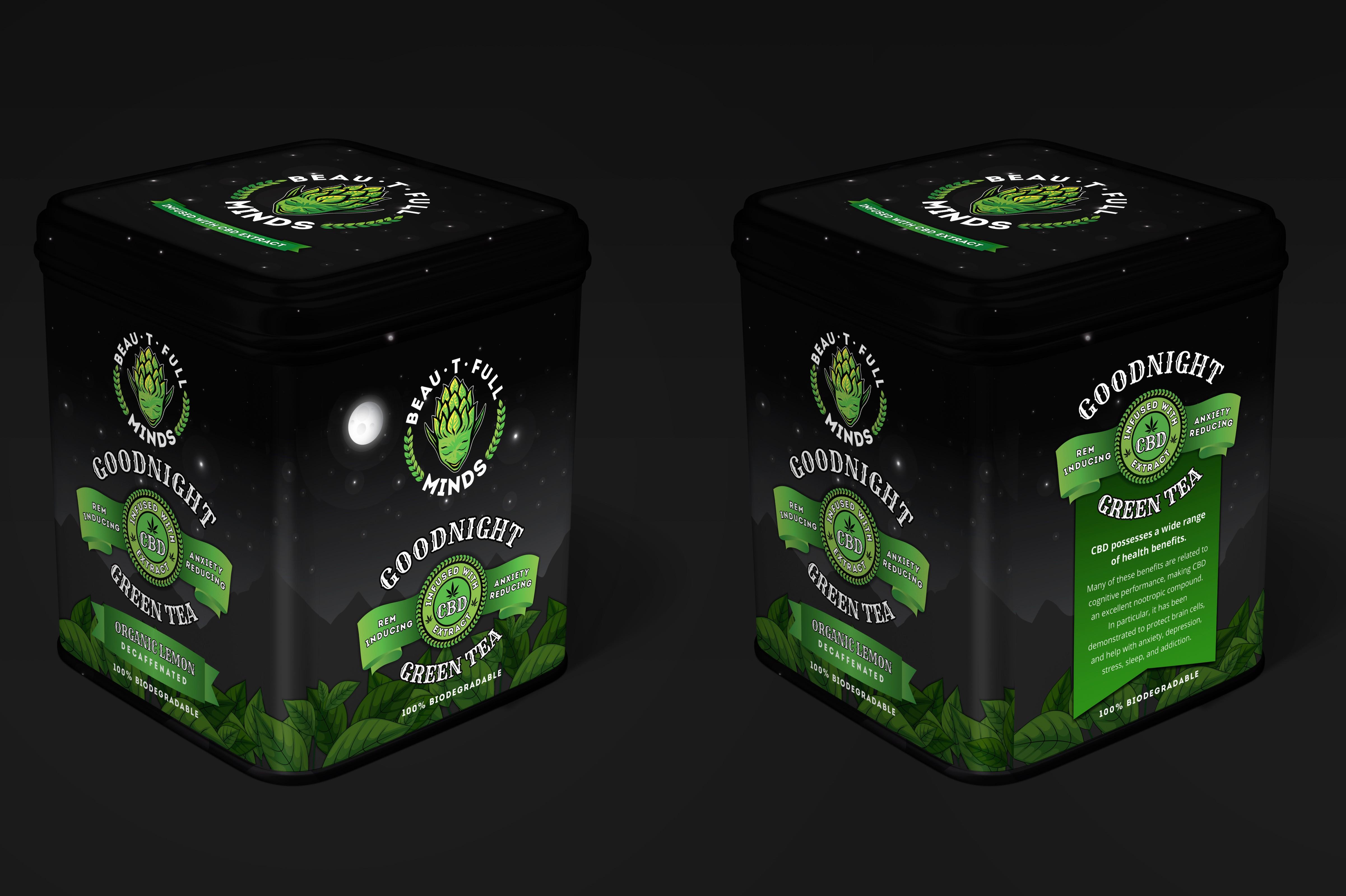 BEAU-T-FULL GREEN TEA PACKAGING