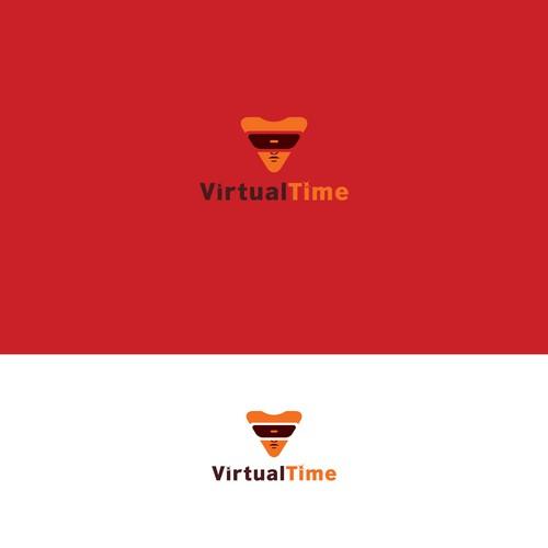 Logo concept for Virtual Game