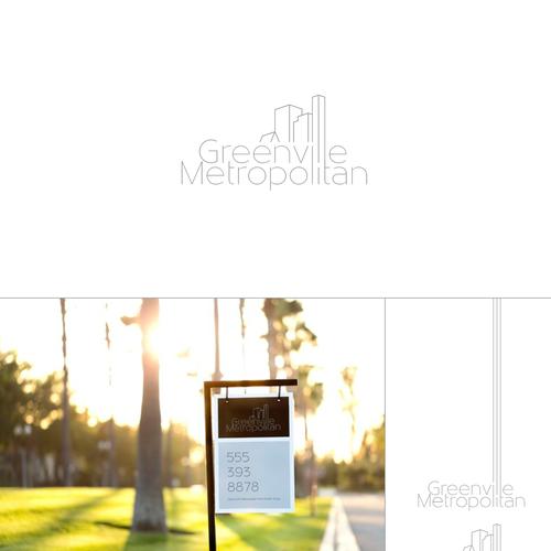 modern real estate logo