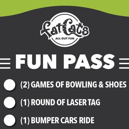 FatCats Fun Pass Cards
